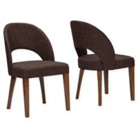 Baxton Studio Lucas Dining Chair in Brown