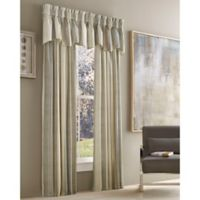 J. Queen New York™ Valdosta Stripe 63-Inch Rod Pocket Window Curtain Panel in Natural