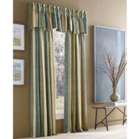 J. Queen New York™ Valdosta Stripe 108-Inch Rod Pocket Window Curtain Panel in French Blue