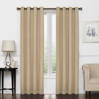 Vue Signature Amina 63-Inch Grommeted Window Curtain Panel in Linen