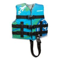 AquaLeisure® Oceans 7 Youth Personal Flotation Device in Aqua