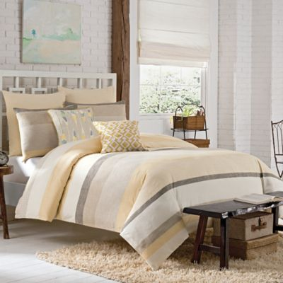 Buy Yellow Cotton Duvet from Bed Bath & Beyond