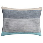 KAS Seneca Standard Pillow Sham in Aqua