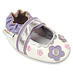 Momo Baby Size 6-12M Flower Lace Mary Janes in White