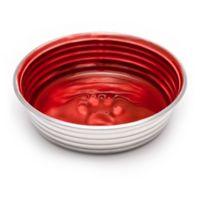 Loving Pets Le Bol Medium Pet Bowl in Red