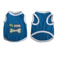 "Pretty Pet ""My Bone"" X-Large Tank Top in Blue"
