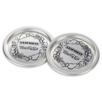 Leifheit Clic Wide Mouth Canning Jar Sealing Lids In Silver Set Of 12