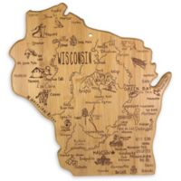 Totally Bamboo® MEGA Wisconsin Destination Cutting/Serving Board