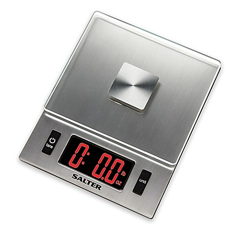 Salter Led Display Digital Kitchen Food Scale