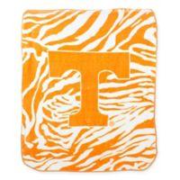 University of Tennessee Soft Raschel Throw Blanket
