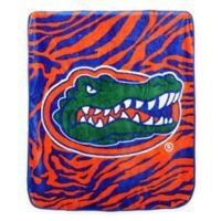 University of Florida Soft Raschel Throw Blanket
