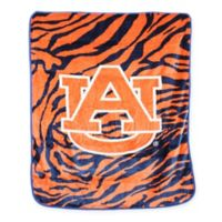 Auburn University Soft Raschel Throw Blanket