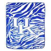 University of Kentucky Soft Raschel Throw Blanket