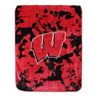 University of Wisconsin Oversized Soft Raschel Throw Blanket