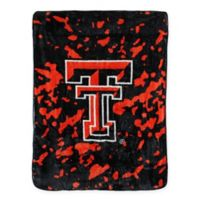 Texas Tech University Oversized Soft Raschel Throw Blanket