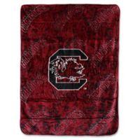 University of South Carolina Oversized Soft Raschel Throw Blanket