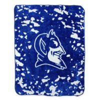 Duke University Oversized Soft Raschel Throw Blanket