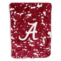 University of Alabama Oversized Soft Raschel Throw Blanket