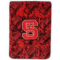 North Carolina State University Oversized Soft Raschel Throw Blanket