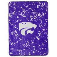 Kansas State University Oversized Soft Raschel Throw Blanket