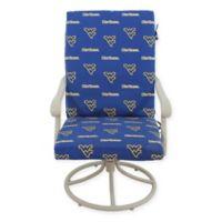 West Virginia University 2-Piece Chair Cushion Set