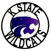 Kansas State University 18-Inch Wrought Iron Wall Décor