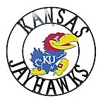 University of Kansas 18-Inch Wrought Iron Wall Décor
