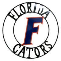 University of Florida 18-Inch Wrought Iron Wall Décor