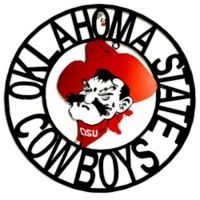 Oklahoma State University 24-Inch Wrought Iron Wall Décor