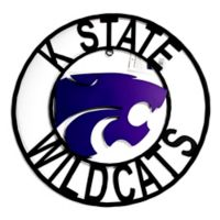 Kansas State University 24-Inch Wrought Iron Wall Décor