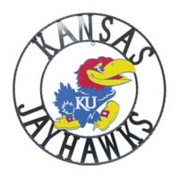 University of Kansas 24-Inch Wrought Iron Wall Décor