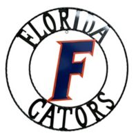 University of Florida 24-Inch Wrought Iron Wall Décor