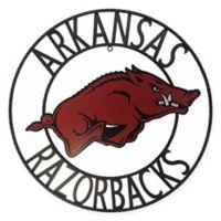 University of Arkansas 24-Inch Wrought Iron Wall Décor