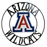 University of Arizona 24-Inch Wrought Iron Wall Décor