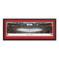 NHL Minnesota Wild Panoramic Print with Deluxe Frame