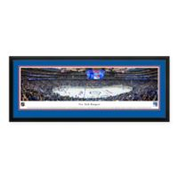 NHL New York Rangers Panoramic Print with Deluxe Frame