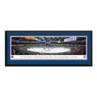 NHL New York Islanders Panoramic Print with Deluxe Frame