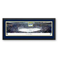 NHL St. Louis Blues Panoramic Print with Deluxe Frame