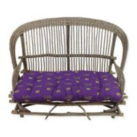 Louisiana State University Settee Cushion
