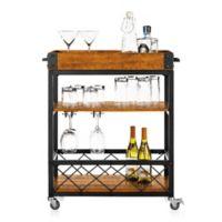 iNSPIRE Q® Seymour Kitchen Rolling Serving Cart