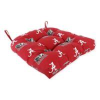 Alabama Crimson Tide Collegiate Indoor/Outdoor D Chair Cushion