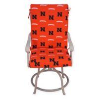University of Nebraska 2-Piece Chair Cushion