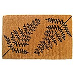Nature by Geo Crafts Imperial Fern 24-Inch x 39-Inch Door Mat