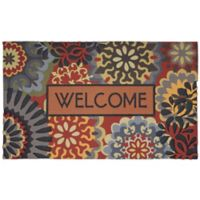 "Dimensional Scatter 30-Inch x 18-Inch ""Welcome"" Door Mat"
