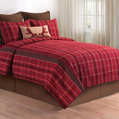 Collin Twin Quilt In Red