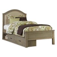 Hillsdale Highlands Twin Bailey Bed with Storage in Driftwood