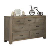 Hillsdale Highlands 7-Drawer Dresser in Driftwood