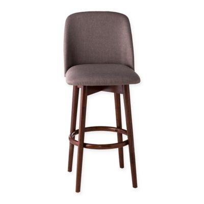 Hillsdale Allentown 26-Inch Swivel Counter Stool in Cherry  sc 1 st  Bed Bath u0026 Beyond & Buy 26