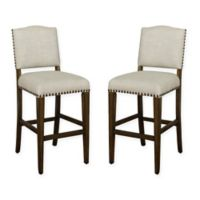 American Heritage Worthington Bar Stool in Coastal Grey (Set of 2)