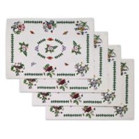 Botanical Birds Placemats in Ivory (Set of 4)